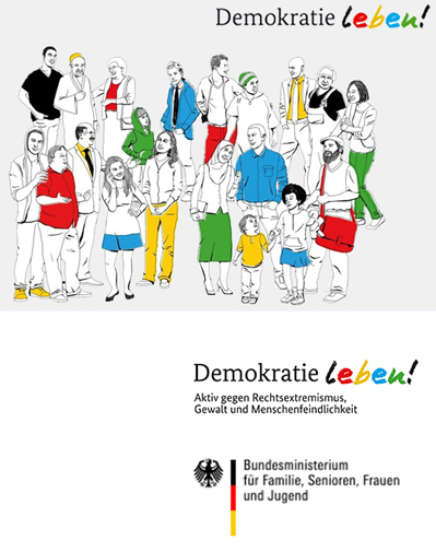 Demokratie leben - Logos