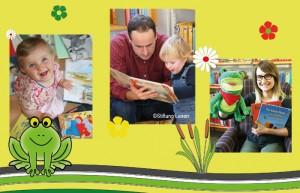 Bücherfrösche Webseite 2017