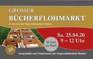 Bücherflohmarkt  Innenhof 2020 Webseite